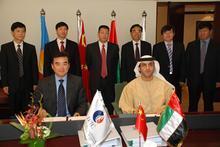中国石油总包阿布扎比原油管线投产