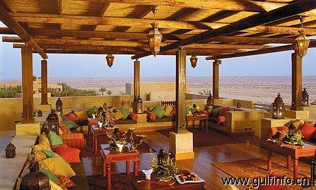 迪拜酒吧-阿尔萨拉卜楼顶酒吧(Al Sarab Rooftop Lounge)