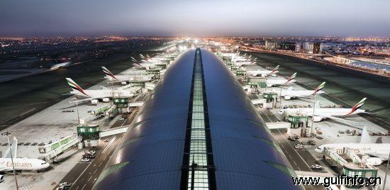 迪拜世界最大机场10月27日将起启动客运服务