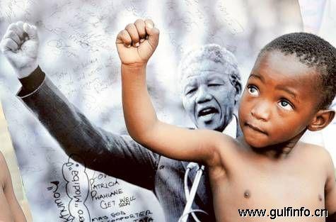 世界见证纳尔逊·曼德拉95岁生日