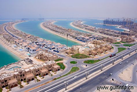 迪拜棕榈岛的房价火速增长