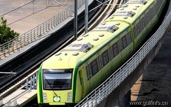 沙特阿拉伯授予225亿美元的合同修建利雅得地铁