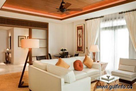 萨迪亚特岛瑞吉酒店推出阿联酋最大的酒店套房