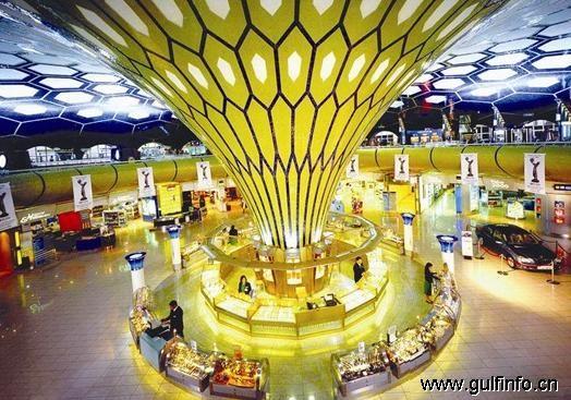 阿布扎比国际机场免税商店销售额增长