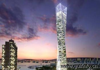 """世界最高""""扭曲塔""""现身迪拜"""
