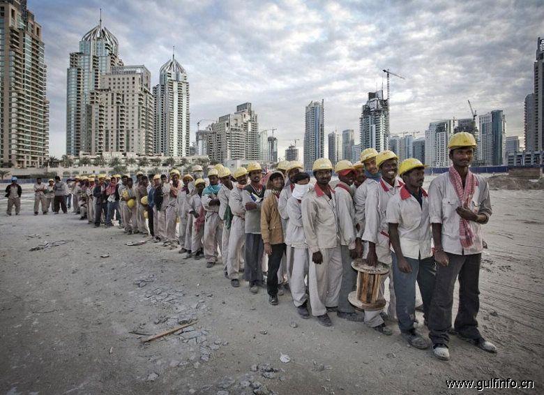 海湾国家外籍劳工数量占总人口的36.3%