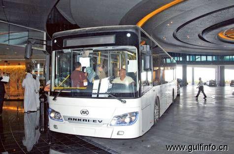 阿布扎比全电动巴士十月底开跑