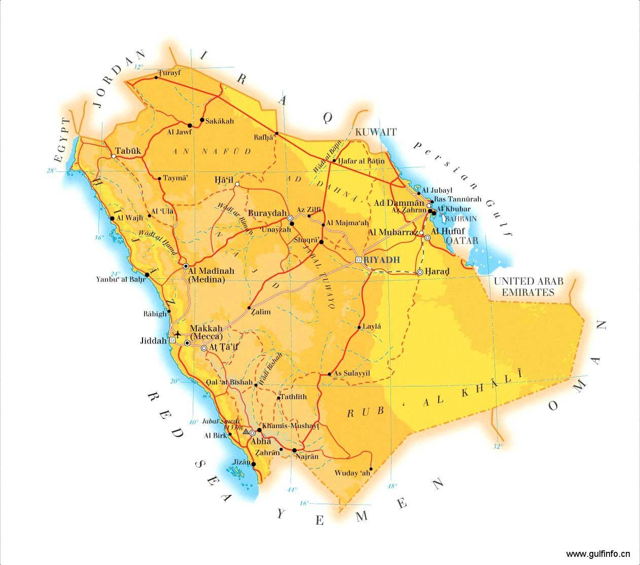 沙特物流运输业——中东&北非地区冉冉升起的明星