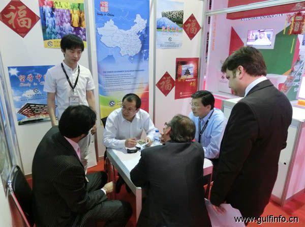 中国教育代表团参加迪拜国际高等教育展
