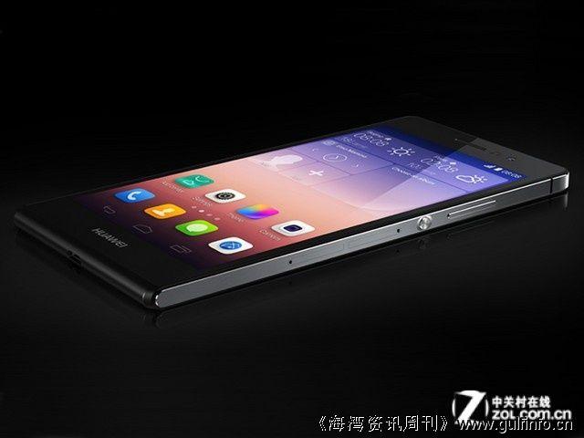 华为在迪拜发布Ascend P7智能手机
