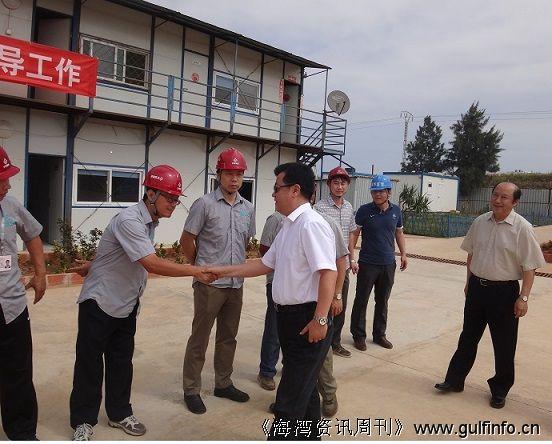 杨广玉大使视察歌剧院项目工地