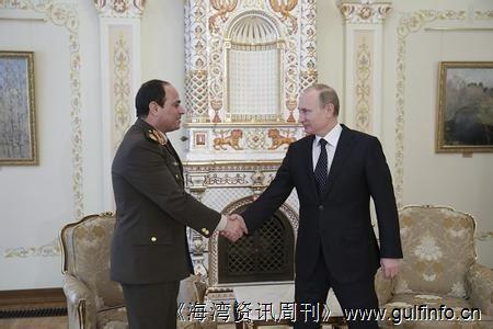 埃及与俄罗斯达成协议 将扩大武器销售合作