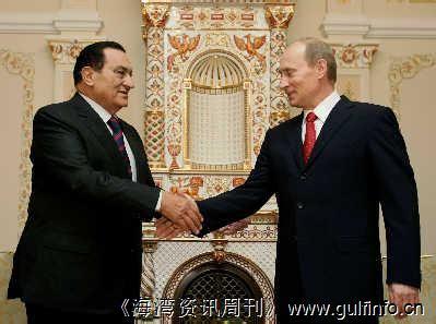 俄罗斯与埃及探讨加强两国能源合作问题