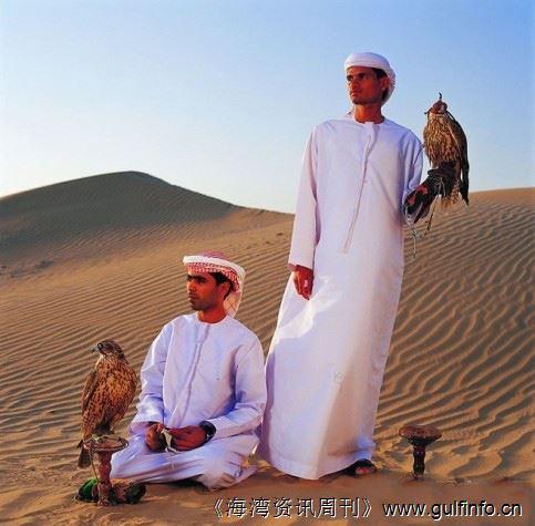阿拉伯世界中的鹰