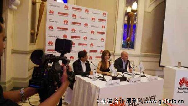 华为终端邀请黎巴嫩天后级歌手南希阿吉莱姆Nancy 为期代言