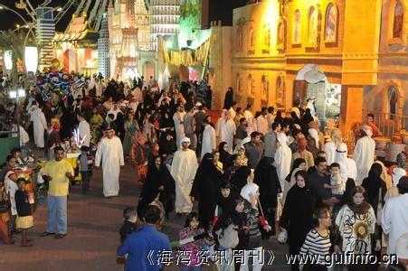 """今年的迪拜地球村购物节将""""更大更好"""""""