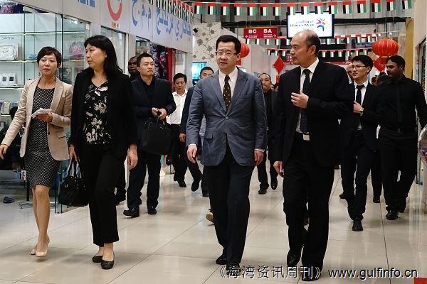 中国驻迪拜总领馆莅临阿基曼中国城调研