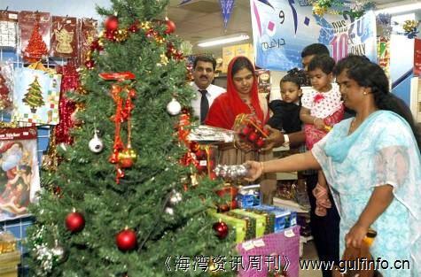 阿联酋圣诞节销售额小幅度增长