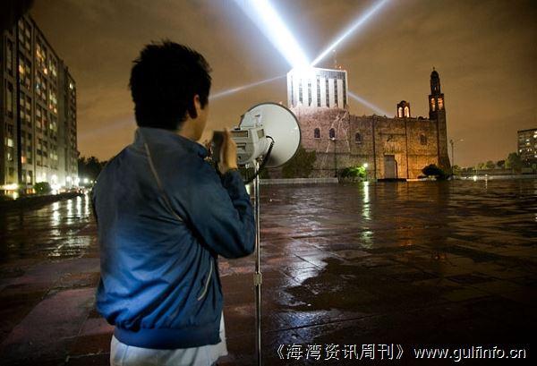 最新艺术项目将在阿布扎比上空用灯光表现您的心跳