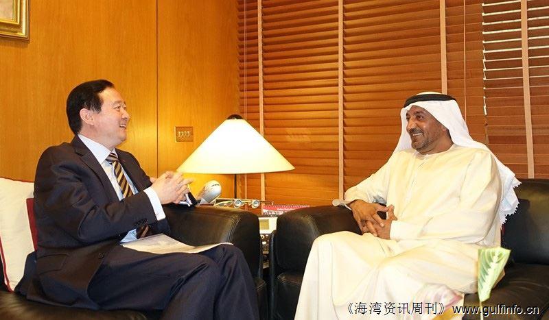 常华大使会见迪拜世博会最高委员艾哈迈德亲王