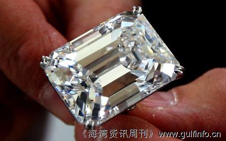 100克拉完美钻石惊艳亮相迪拜