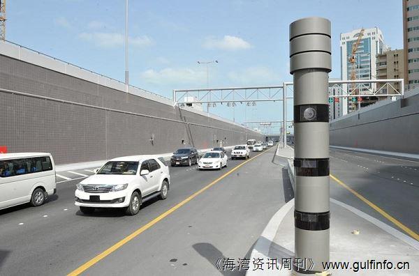 迪拜公路新雷达可拍摄不系安全带功能