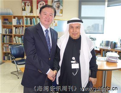 驻阿联酋大使常华会见阿通社社长阿比德