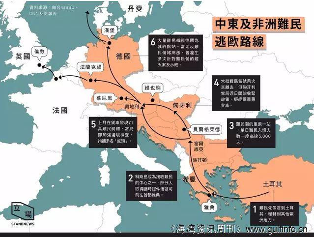 中东乱局 | 叙利亚难民为何涌入欧洲?海湾国家真的没有接收难民么?