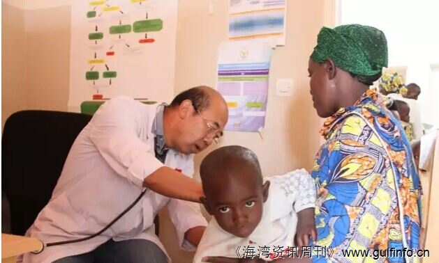 卢旺达儿童受益中国抗疟药