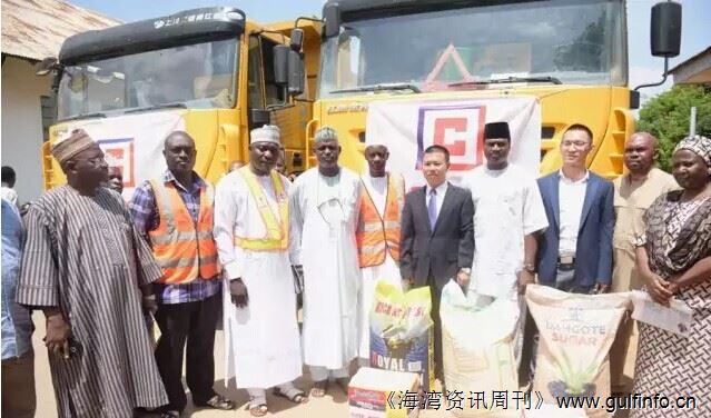 中资企业为尼日利亚受洪灾地区捐赠