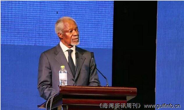 安南为中国企业出谋划策:进入非洲要有