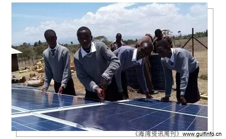 中国光伏企业瞄准非洲市场