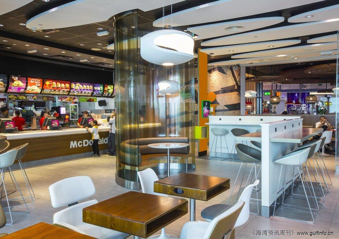 麦当劳每天在中东地区净赚600万美元