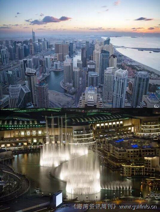 银行家爬高楼记录迪拜绝美瞬间