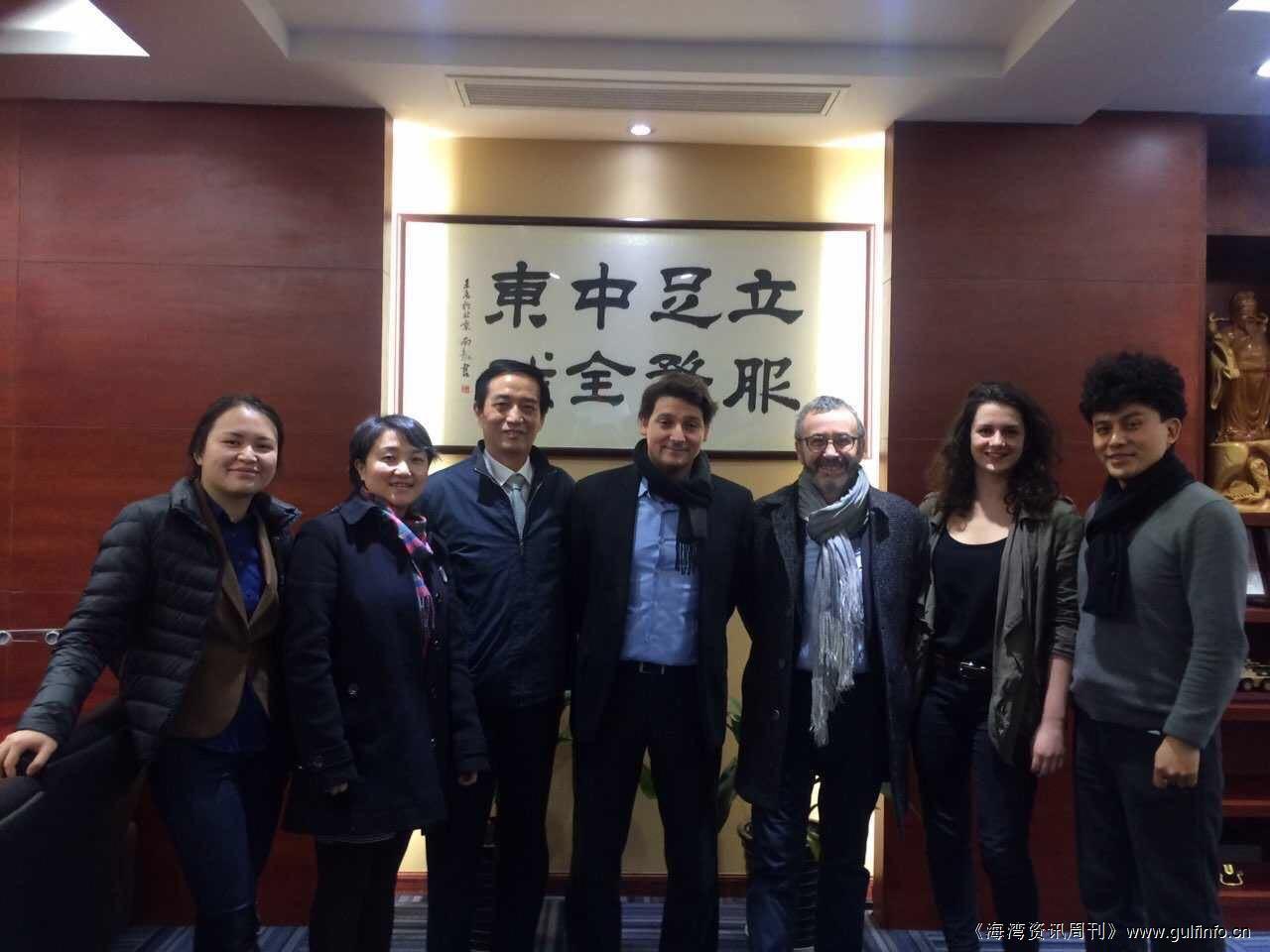 法国昂西国际动画电影节组委会领导莅临MIE集团