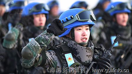 走近中国维和女兵:部落降天使