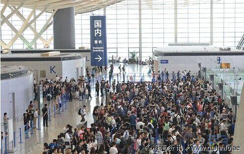 上海浦东机场安检升级!排队长长长长长长