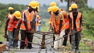 非洲首条中国标准铁路试乘 车内屏幕播放《功夫熊<font color=#ff0000>猫</font>》