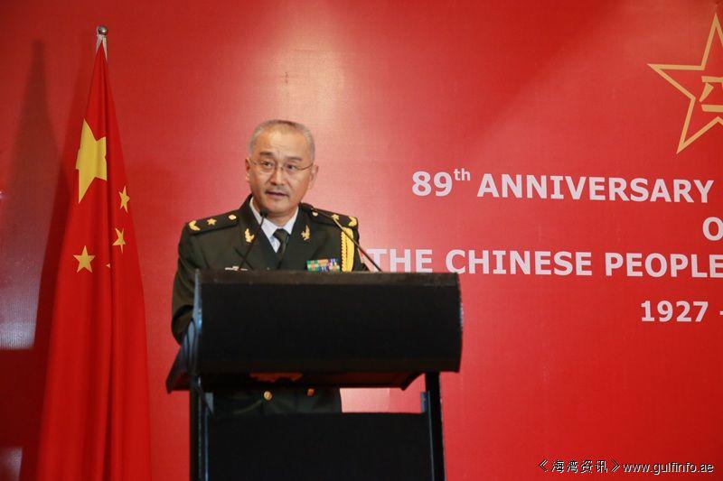 驻印度使馆举办庆祝建军89周年招待会