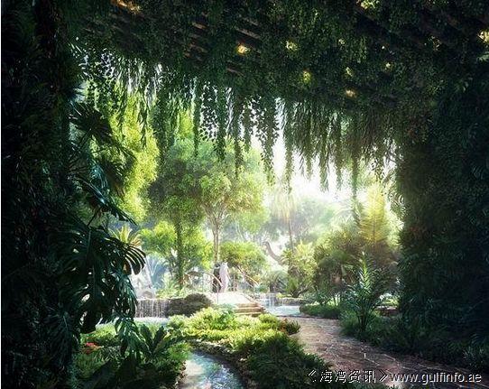 迪拜又任性了 两亿三千万英镑打造沙漠热带雨林