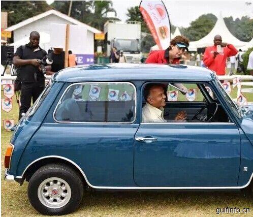 肯尼亚内罗毕举办老爷车大赛
