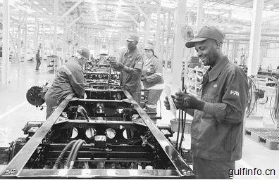中国车企,促进与南非产能合作对接