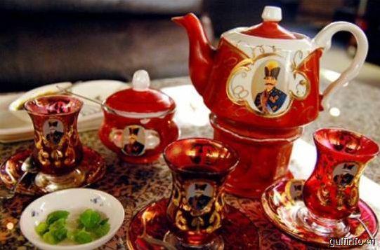 伊朗风情的茶道