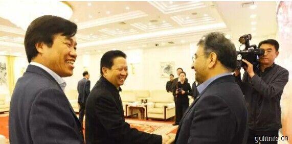 辽宁省省长陈求发会见华晨合作伙伴伊朗塞帕集团代表团