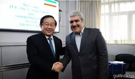 万钢部长会见伊朗科技副总统索那·萨塔里