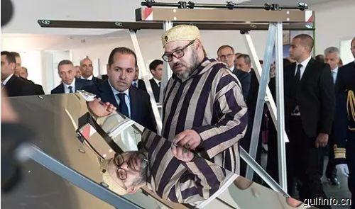 """国王穆罕默德六世亲临现场,摩洛哥大型""""绿色能源公园""""落成!"""