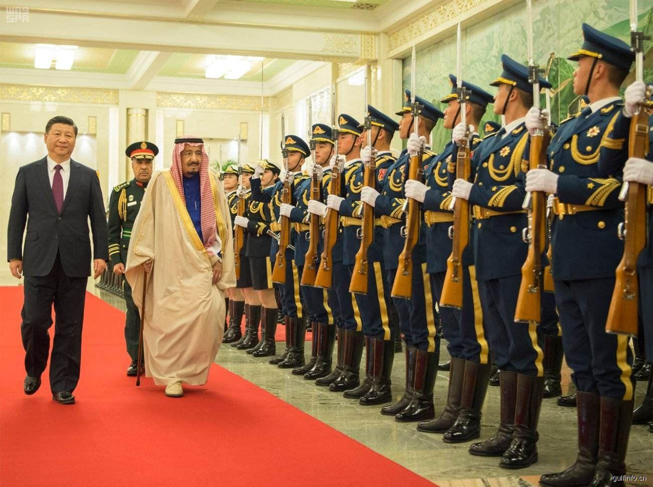 沙特国王摆出超级豪华阵容访华,挥手签下4500亿人民币超级大单!