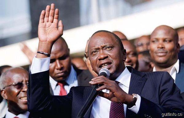 """""""一带一路""""倡议有助于中非合作共赢--访肯尼亚总统乌胡鲁·肯雅塔"""
