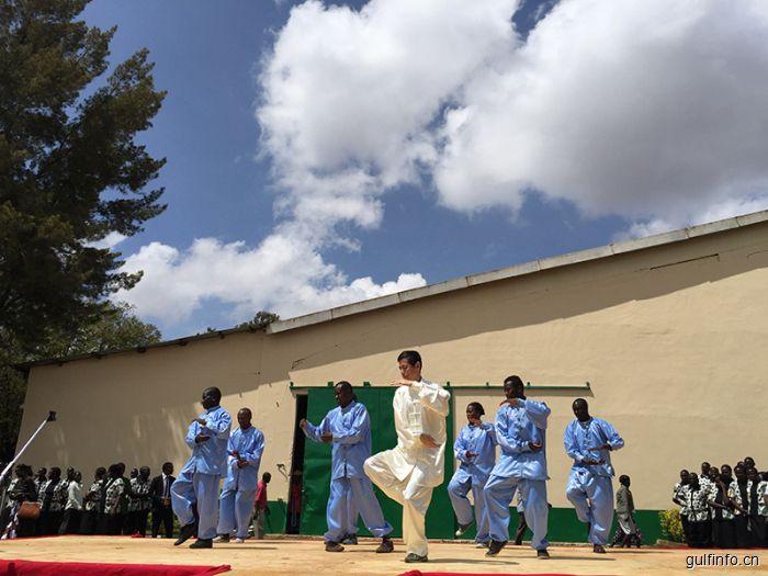 肯尼亚首家由孔子学院设立的孔子课堂揭牌