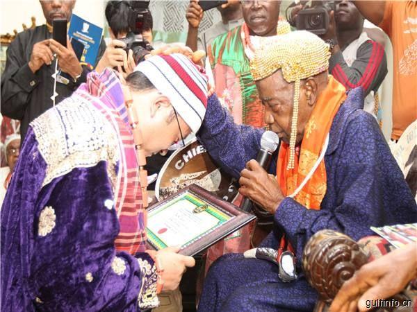 获世界认可:3名中企员工被尼日利亚授予酋长头衔